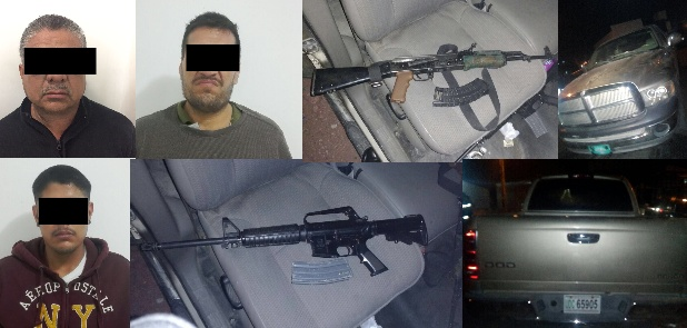 Capturan federales a integrantes de grupo criminal