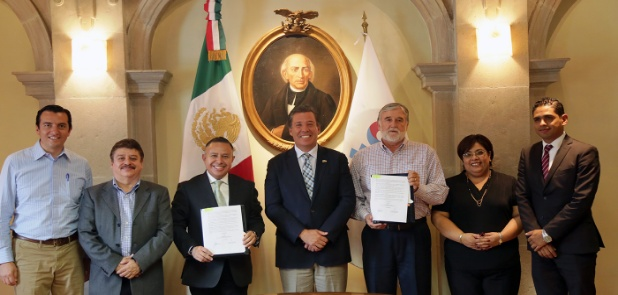 Capital y Estado firman convenio financiero