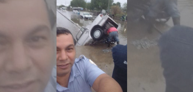 Tránsito presume foto en accidente